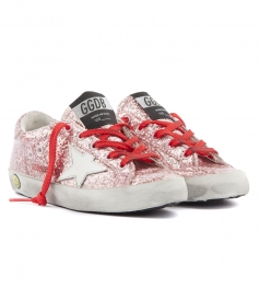 SUPER STAR GLITTER COATED SNEAKERS