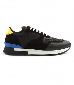 RUNNER ACTIVE SNEAKERS IN SUEDE AND NYLON