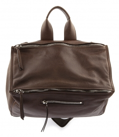 PANDORA MESSENGER BAG IN LEATHER