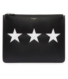 CONTRASTING STARS POUCH