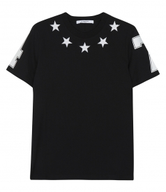 STARS AND 74 DETAILS T-SHIRT