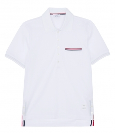 CHEST POCKET SHORTSLEEVED POLO