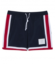 CLASSIC SWIM TRUNK FT RED & WHITE STRIPES