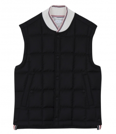 DOWNFILLED PADDED GILET JACKET