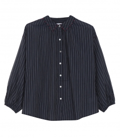 WHITLEY TAJ STRIPE BUTTON UP