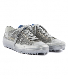 SHOES - V STAR SNEAKERS IN SILVER