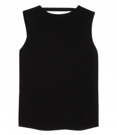 HIGH NECK SQUARE BACK TOP