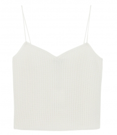THEORY - FORMINA SPAGETTI-STRAP CASHMERE TOP