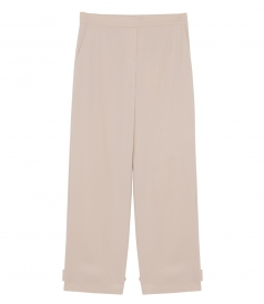 GENIE CROPPED TAILORED TROUSERS