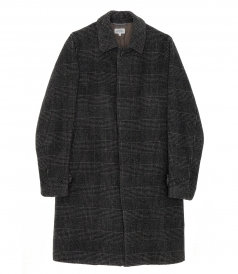 PLAID PATTERN COAT