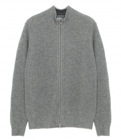 COTTON ZIP PULLOVER