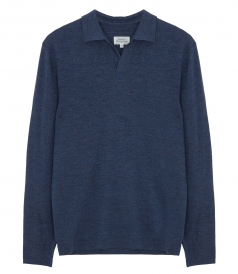 WOOL POLO JUMPER