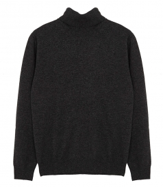 MERINO WOOL ROLL-NECK JUMPER