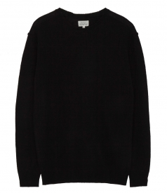 EXTRAFINE WOOL & CASHMERE PULLOVER