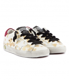 SUPER STAR GOLDEN HEARTS SNEAKERS