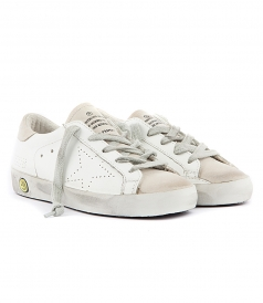 SUPER STAR WHITE SNEAKERS
