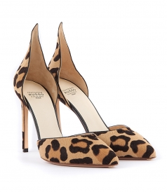PRINTED LEOPARD PUMPS