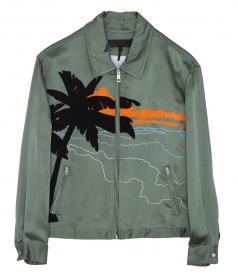 ROTH EMBROIDERED BOMBER JACKET