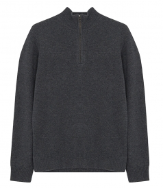 GEELONG WOOL ZIPPER