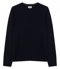 PULLOVERS - WOOL CREW NECK PULLOVER