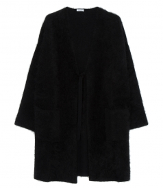 LANGY V NECK COAT