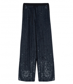 GLAST SEQUIN TROUSERS