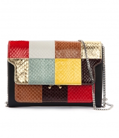 BAGS - MINI TRUNK PATCHWORK BAG