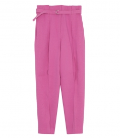 HIGH WAISTED PANT WITH LEG DART