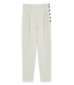 TAILORED PANTS WITH SIDE BUTTONS