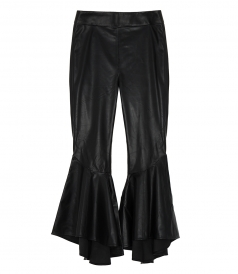 SINUOUS LEATHER PANTS