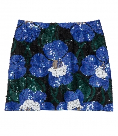 GOLANKS SEQUIN MINI SKIRT