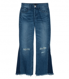 JEANS - HIGHER GROUND GUSSET CROP JEANS