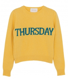 DAYS OF THE WEEK SWEATER