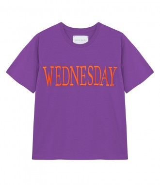 DAYS OF THE WEEK EMBROIDERED T-SHIRT