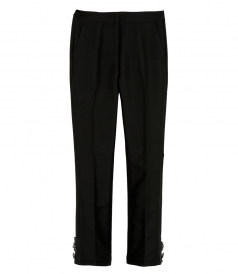 FLARED EMBELLISHED TROUSERS
