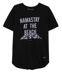 SALES - NAMASTAY AT THE BEACH CREW TOP