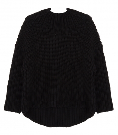 TEXTURED-KNIT PULLOVER