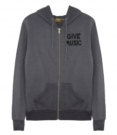 UNISEX GIVE MUSIC HOODIE