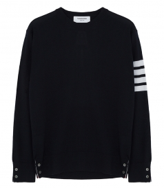 CLASSIC CREW NECK STRIPED PULLOVER