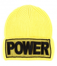 POWER EMBROIDERED BEANIE