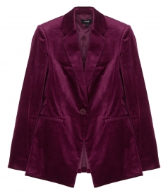 VELVET POWER JACKET