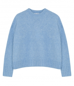 BURSHED WOOL PULLOVER