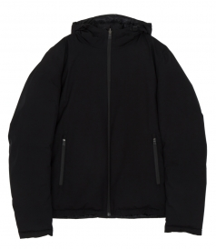 TWO LAYERS HOODED JACKET