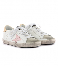 SUPERSTAR SNEAKERS FT PINK STAR