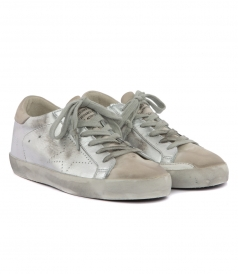 bec4cb1810b90 SUPERSTAR SNEAKERS IN SILVER. SUPERSTAR SNEAKERS IN SILVER. 3536 · GOLDEN  GOOSE DELUXE BRAND ...