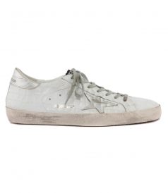 SUPERSTAR SNEAKERS IN PRINTED COCCO FT SIVER STAR
