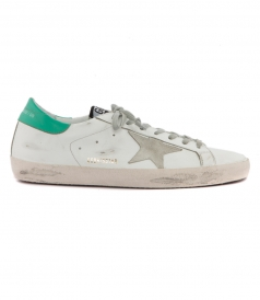 SHOES - SUPERSTAR SNEAKERS FT MINT HEEL TAB