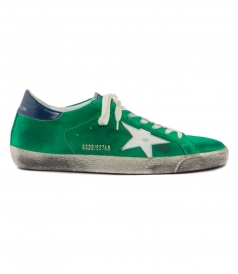 SUPERSTAR SNEAKERS IN GREEN