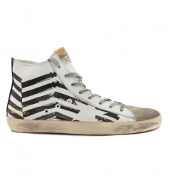 FRANCY SNEAKERS WHITE FLAG