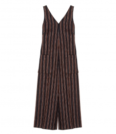 ROSA STRIPED OVERALL